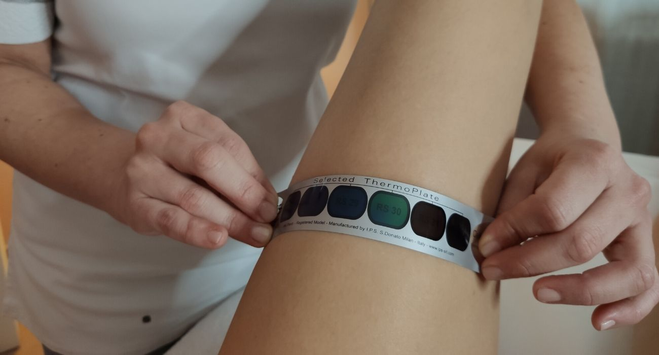 check up corpo misurazione termografia