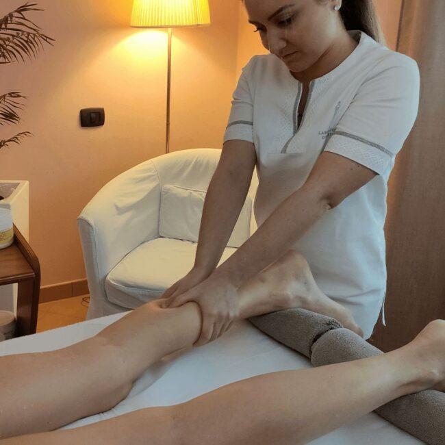 Massaggio Linfodrenante corpo anticellulite drenante